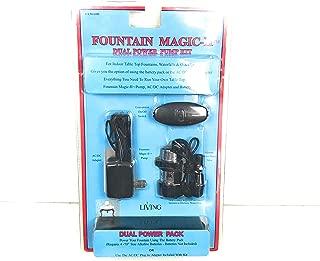 Fountain Magic III Standard Power Battery Operated Dual Power Pump Kit
