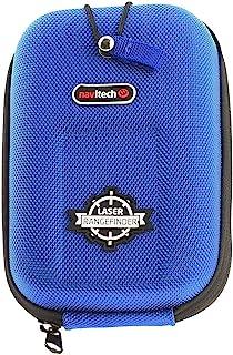 Navitech Blauw EVA-afstandsmeter Harde Koffer/Hoes Met Karabijnhaak - compatibel met de jiehome Golf rangefinder
