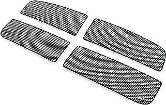 GrillCraft DOD1005B MX Series Grille Upper Insert 4 pcs. Steel Mesh Pattern Black Powder Coat Top Finish MX Series Grille Upper Insert