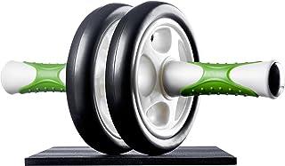 comprar comparacion Ultrasport Aparato de abdominales AB Roller / AB Trainer con esterilla para las rodillas, ejercicios de abdominales para h...