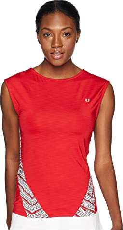 Sprint Collection Backup Cap Sleeve Top