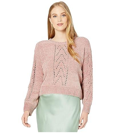 BB Dakota Chenille My Love Sweater (Rose Quartz) Women