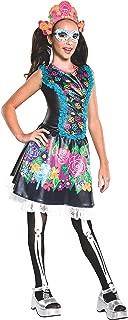 Rubie's Costume Monster High Collector Series Skelita Calaveras Child Costume, Medium