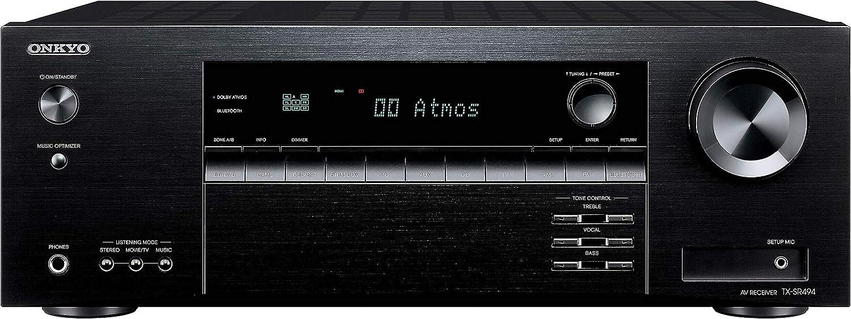 Onkyo TXSR494 / TX-SR494 / TX-SR494 7.2-Channel A/V Receiver (Renewed)