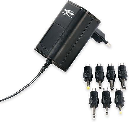 ANSMANN Alimentatore universale 7 spinotti APS 300 3-12V - Caricatore per dispositivi elettronici connettori intercambiabili 300mA tensione regolabile - Confronta prezzi