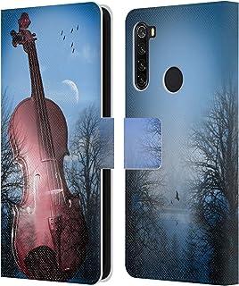 オフィシャル Mark Ashkenazi バイオリン ミュージック Xiaomi Redmi Note 8T 専用レザーブックウォレット カバーケース