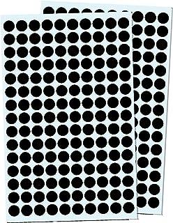 Prix Bijoux Autocollants Cercles ou Rectangles 1000 Noir Cercles
