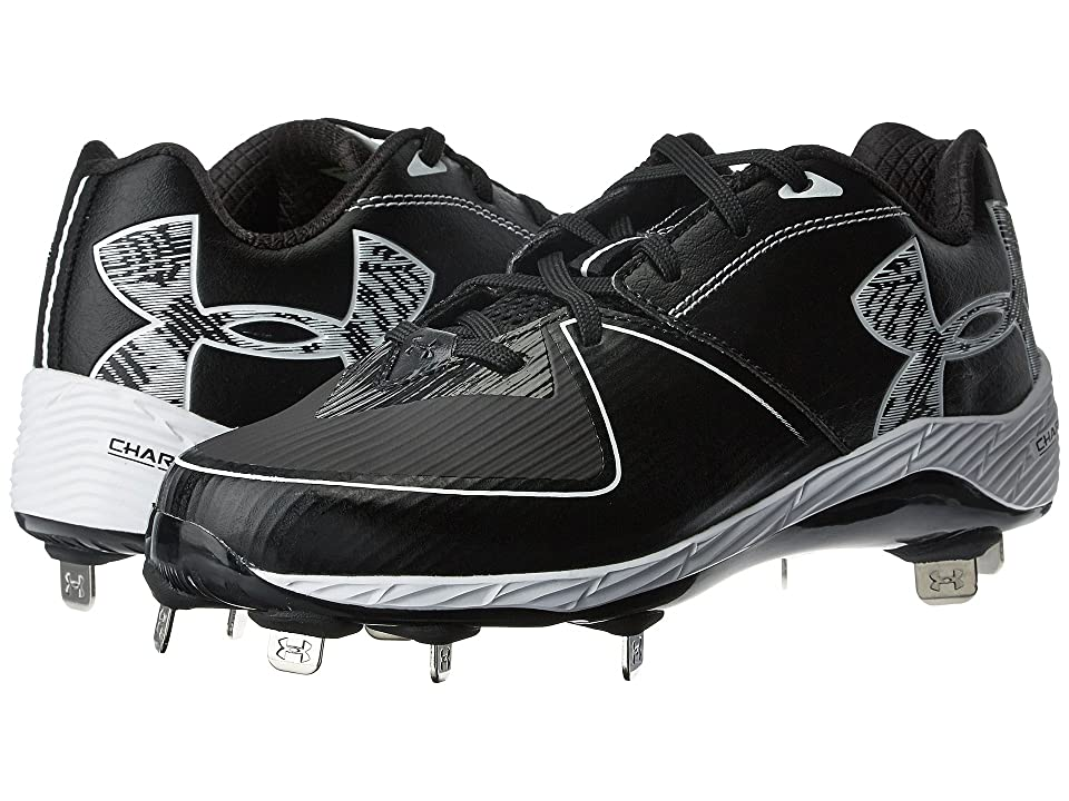 29cc23b989 Under Armour UA Glyde ST (Black Black) Women s Cleated Shoes