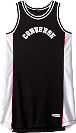 Converse Kids - Basketball Jersey Dress (Little Kids)
