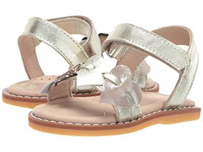 Elephantito Caro Cuore Sandal (Toddler) (Pink) Girls Shoes