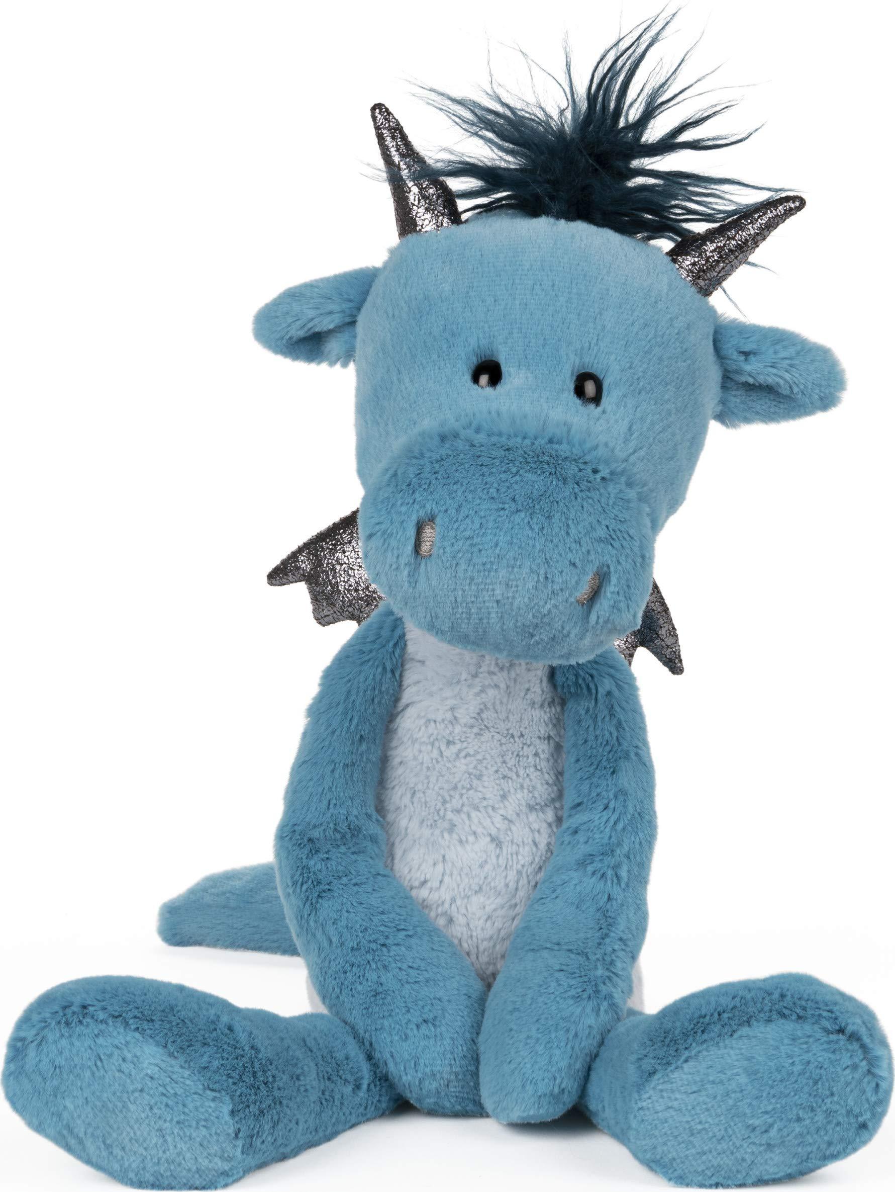 "GUND Toothpick Asher Dragon Plush Stuffed Animal, Blue, 15"""