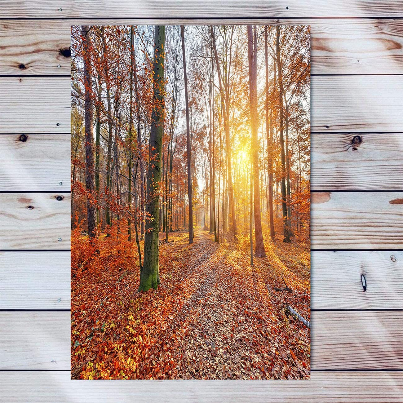 Autumn Limited Online limited product Special Price Forest Canvas Wall Art For Modern Artwork Living Sun Room