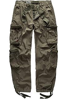 Surplus Raw Vintage Airborne Mens Cargo Trousers