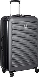 DELSEY PARIS - SEGUR 2.0 - Valise rigide à double roues et serrure TSA intégrée - 70cm, 105L, Gris