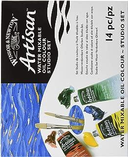 Winsor & Newton Artisan Water Mixable Oil Colour Studio Set, Ten 37ml Tubes