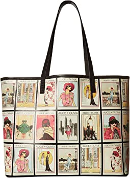 Missy Vintage Collage Large Perfect Tote