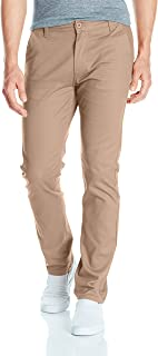 Southpole Men's Flex Stretch Basic Long Chino Pants