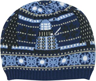 TARDIS and Dalek Christmas Hat - Official Doctor Who Knitted Hat by LOVARZI
