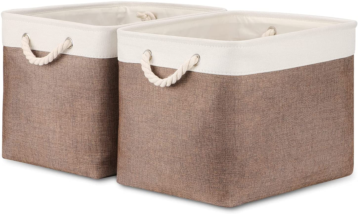 Super Special SALE Max 51% OFF held Bidtakay Large Storage Baskets with x 16