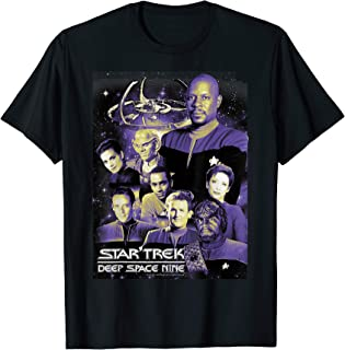 Star Trek DS9 Space Station Crew Portraits Graphic T-Shirt