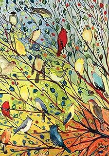 Toland Home Garden 109537 Tree Birds 28 x 40 Inch Decorative, House Flag (28
