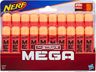NERF MEGA - 20 Pack official Darts - Compatible with Fortnite TS Tactical Shotgun, Mastodon, Twinshock & DoubleBreach Blasters - Kids Toys - Ages 8+