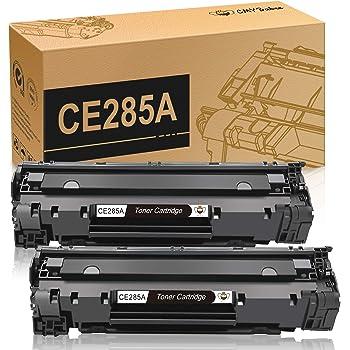 CMYBabee Compatible Toner Cartridges Replacement for HP 85A CE285A for HP Laserjet Pro P1102w P1109w M1212nf M1217nfw MFP Printer(Black, 2-Pack)