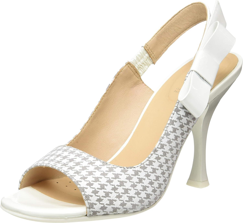 Geox Damen D Elisangel C Slingback Sandalen Sandalen  beeilte sich zu sehen