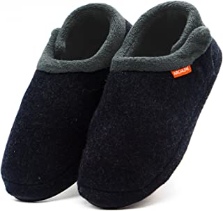 Archline 2017 Model Womens Closed Toe Comfort Orthotic Slippers - Size: 8 US or 39 EUR - Color: Charcoal Marl