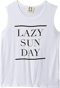 Sunday Lazy Day Tee (Big Kids)