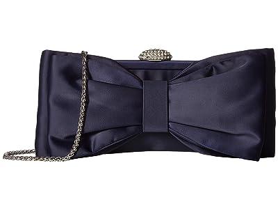 Adrianna Papell Karan (Navy) Clutch Handbags