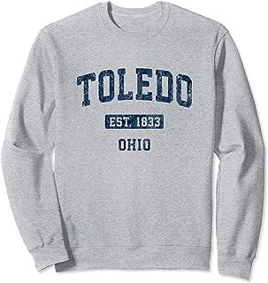 vintage university of toledo apparel