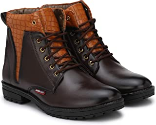 Andrew Scott Men's Leather Boots