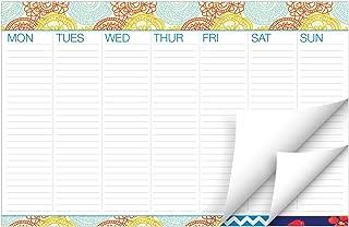 chalkboard weekly wall planner