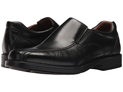 Johnston & Murphy Waterproof XC4 Stanton Panel Toe Slip-On (Black Waterproof Full Grain) Men