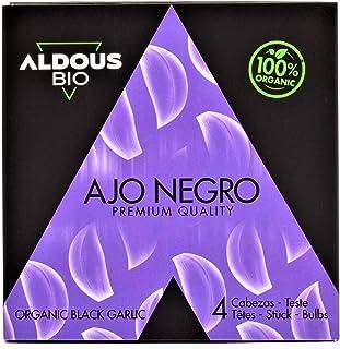 Auténtico Ajo Negro Ecológico Español | Producto Gourmet | Ajo en Cabezas de Calidad Premium | Máxima Frescura y Sabor | L...