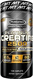 Muscletech Essential 系列 肌酸 2500 补充剂,120 粒