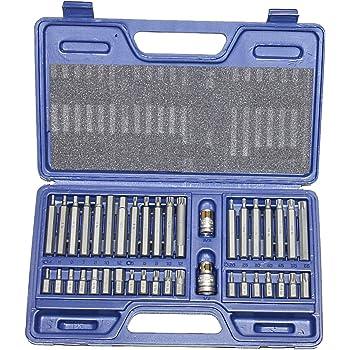 Coffret boîte de 40 embouts vissage proféssionnels Torx 612 pans haute qualité