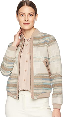 Pacific Wool Bomber Jacket
