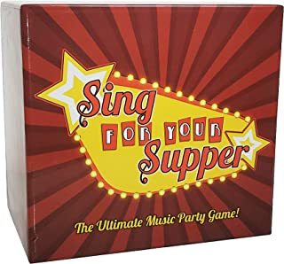 Sing for Your Supper - The Ultimate Music Card Game - Fun Family-Friendly Party Game - Party Games for Adults & Teens