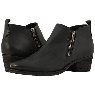 Walking Cradles Goodwin (Black Distressed Leather) Women