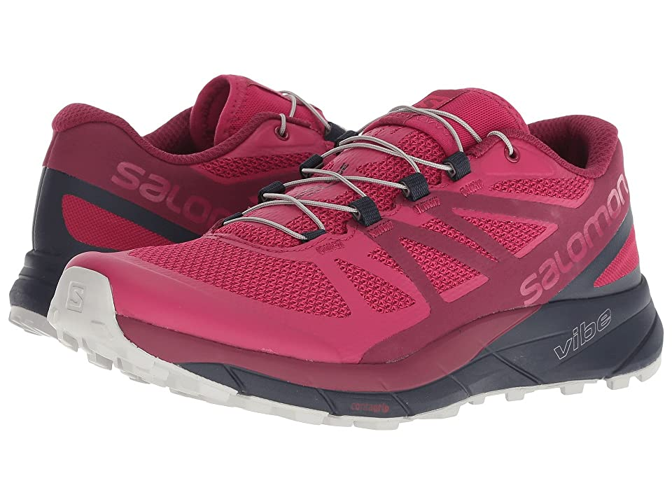 Salomon Sense Ride (Cerise/Navy Blazer/Vapor Blue) Women