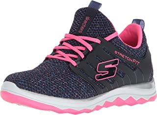 Skechers Unisex-Child Diamond Runner-Sparkle Sprint Sneaker