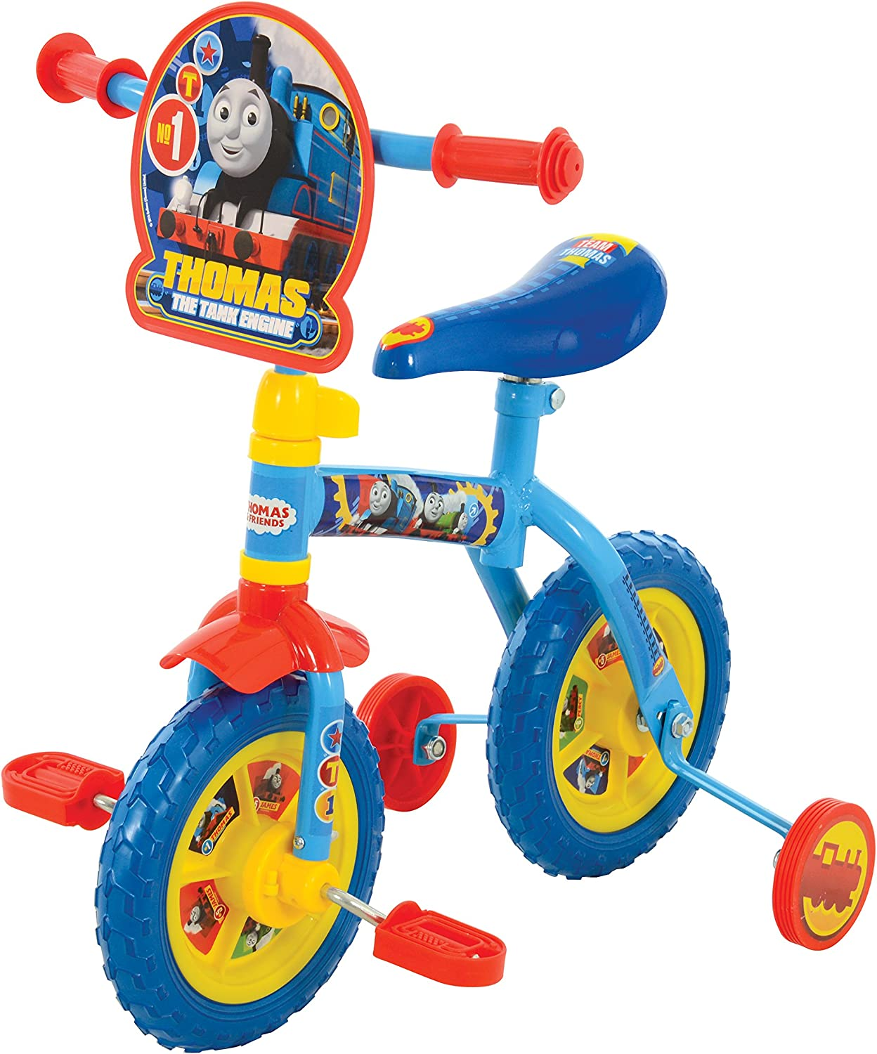 Thomas & Friends M14631 2in1 10inch Training Bike Thomas 2 in 1 10 , bluee