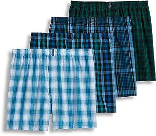 Jockey Men's Underwear Classic Full Cut Boxer - 4 Pack
