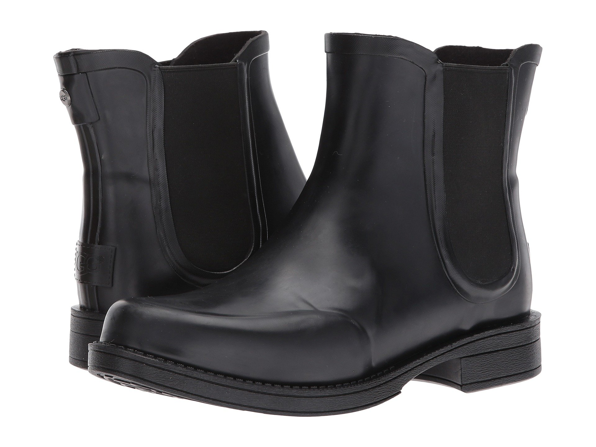 Womens Boots UGG Dawn Black Leather