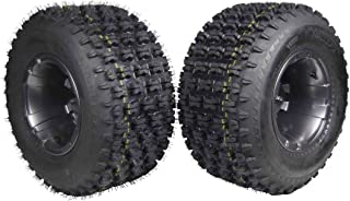Yamaha Banshee 350 (1987-2006) & Raptor 700 (2006-Present) Rear 20x10-9 MASSFX Tire W Gunmetal MASSFX 9x8 4/115 Rim 2 PACK Wheel and Tire Combo