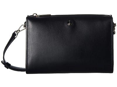 Kate Spade New York Andi Medium Crossbody (Black) Handbags
