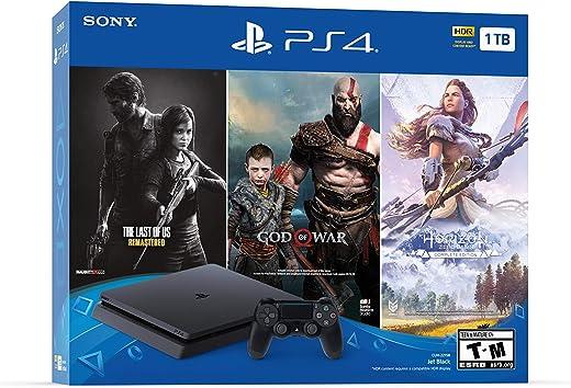 PlayStation 4 Slim 1TB Console - Only On PlayStation Bundle