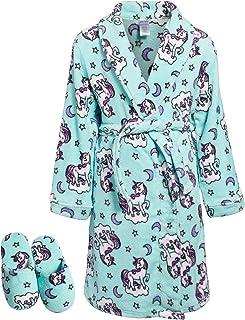 7-8 Bathrobe Girls JoJo Siwa Bows Plush Soft Bath Robe Little Kids